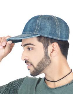 Dynamic Denim / Jeans style Cap / Kappe / Mütze