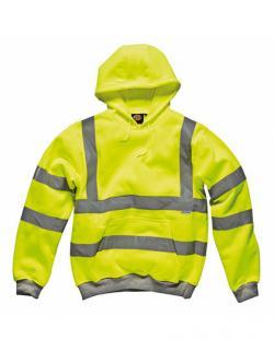 Hochsichtbares Kapuzen-Sweatshirt - SA22090 | EN471 Klasse 2