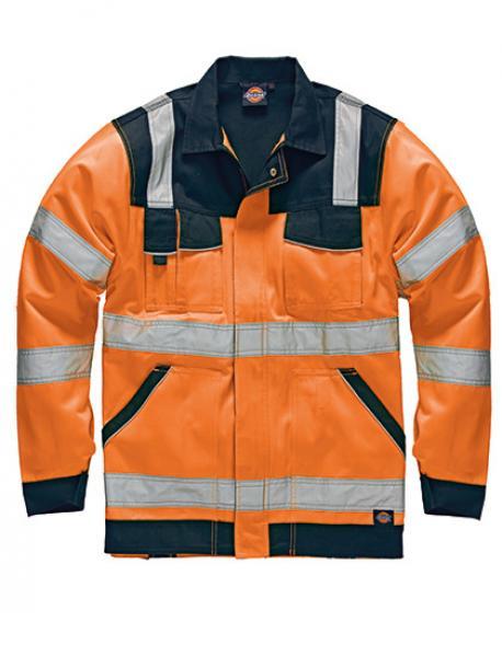 Dickies Industry Warnschutz Arbeitsjacke EN20471 SA30015