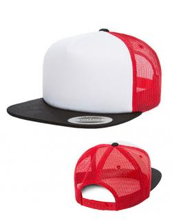 Foam Trucker with white Front Cap / Kappe / Mütze