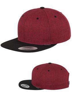 Melange 2-Tone Snapback Cap / Kappe / Mütze