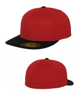 Premium 210 Fitted 2-Tone Cap / Kappe / Mütze