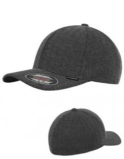 Heringbone Melange Flexfit Cap / Kappe / Mütze