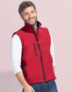 Mens Sleeveless Softshell Rallye Weste / Bodywarmer