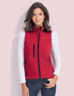 Damen Sleeveless Softshell Rallye Bodywarmer / Weste
