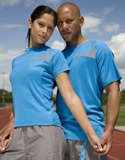 Damen Dash Training / Sport T-Shirt +Kühles Hautgefüh