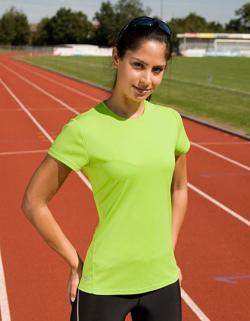 Damen Quick Dry Sport T-Shirt +Sehr leicht
