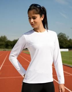 Damen Quick Dry Longsleeve Sport Trainings T-Shirt