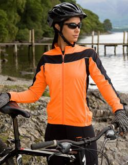 Damen Bikewear Long Sleeve Sport Jacke