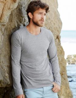Clive Long Sleeve Herren T-Shirt +Öko-Tex +WRAP