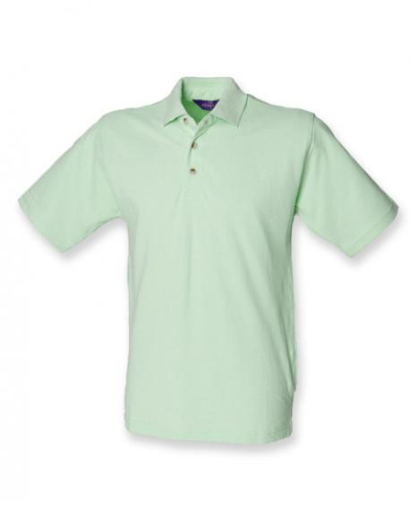 Herren Classic Cotton Piqué Polo Shirt