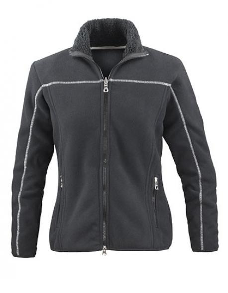 Ladies Huggy Jacket / Damen Fleece Jacke