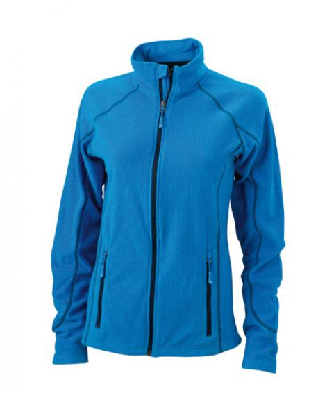 Ladies´ Structure Fleece Jacket / Damen Fleece Jacke
