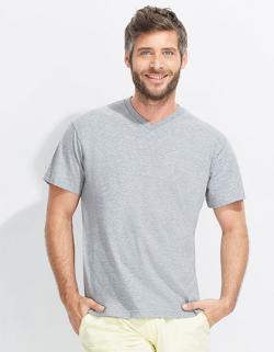 V-Neck Herren Kurzarm T-Shirt Victory