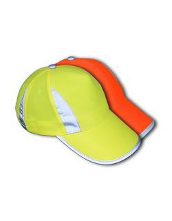Kinder - Sicherheitsmütze Hi-Viz-, Fluo-, Reflections-Cap