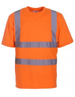 Herren Hi Vis sicherheits T-Shirt EN ISO 20471 bis 6XL