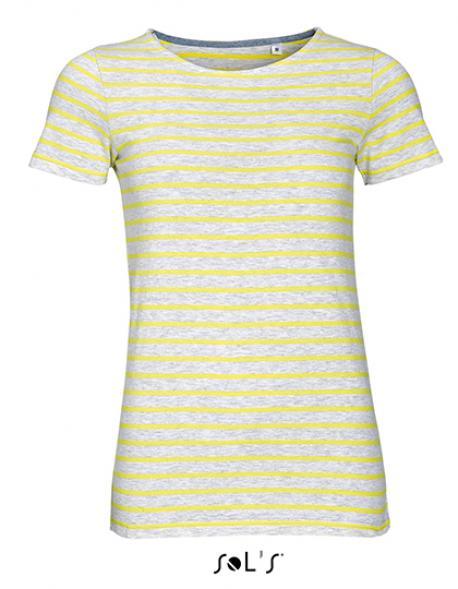 1c525e37ba88e4 Damen Striped T-Shirt modisch gestreift - Rexlander´s