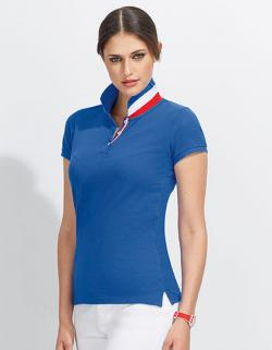 Damen Polo Shirt Patriot