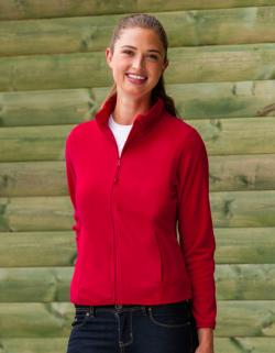 Ladies Microfleece Full-Zip / Damen Fleece Jacke