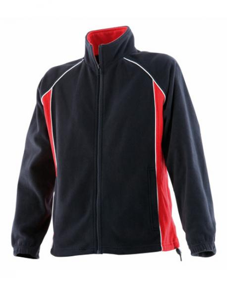 Ladies Piped Microfleece / Damen Fleece Jacke