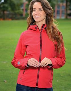Damen Jacke Typhoon Rain Shell wasserdicht und atmungsaktiv