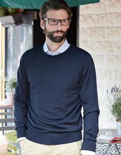 Herren Crew Neck Sweater / Pullover
