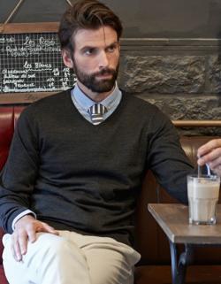 Herren V-Neck Sweater / Pullover