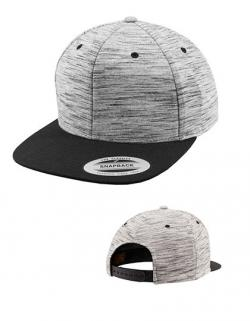 Stripes Melange Crown Snapback Cap / Kappe