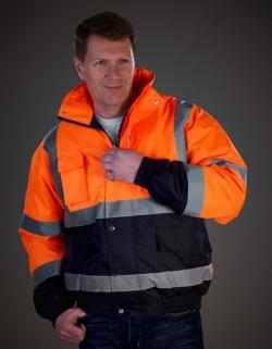 High Visibility Two-Tone Jacke | EN ISO 471:2013 Klasse 3