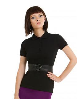 Damen Poloshirt Safran Timeless / Women