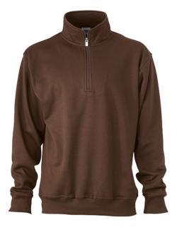 Workwear Half Zip Sweatshirt +Waschbar bis 60 °C