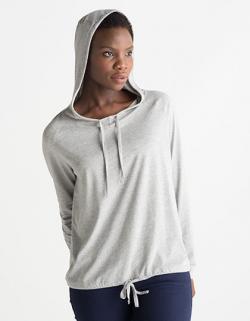 Leichtes Damen Sommer Hoodie / Kaputzensweatshirt
