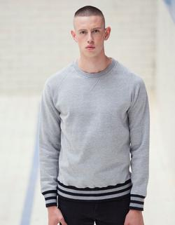 Men s Striped Superstar Sweatshirt | Pullover