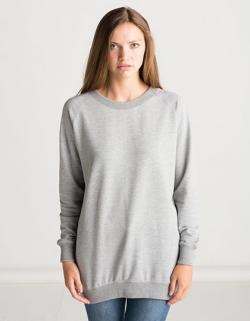 Damen Long Length Sweatshirt in Überlänge