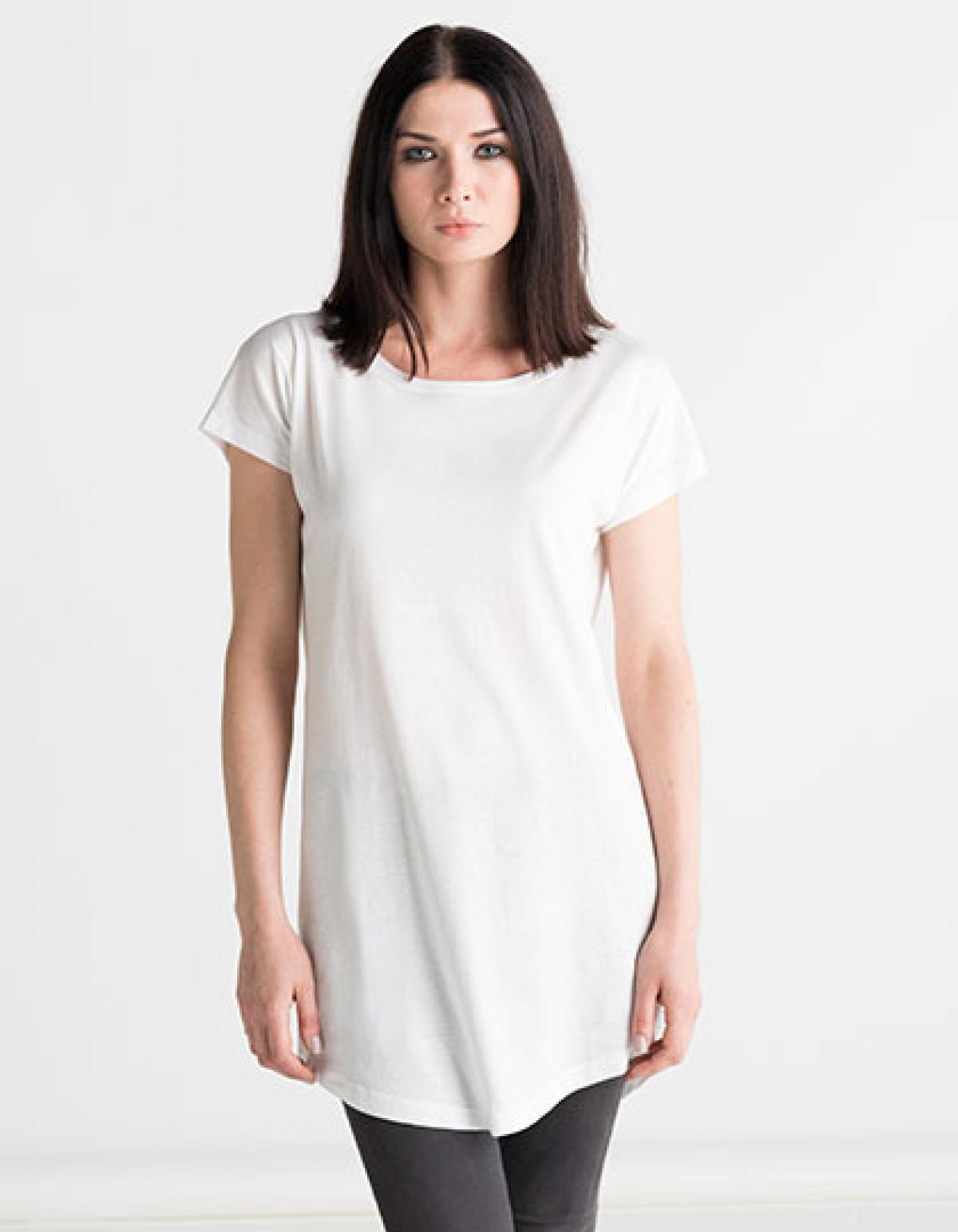 Damen Fit In Shirt Überlänge Rexlander´s Loose T Dress XiOkPTuZ
