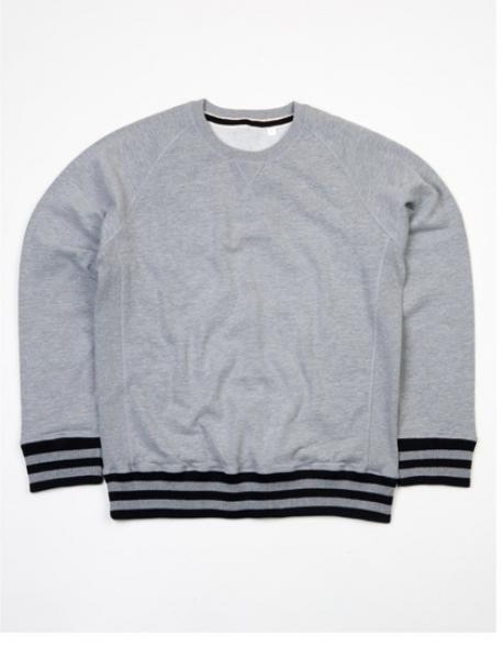 Men s Striped Superstar Sweatshirt | Pullover