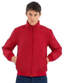 Wattierte, ergonomische Blouson-Jacke