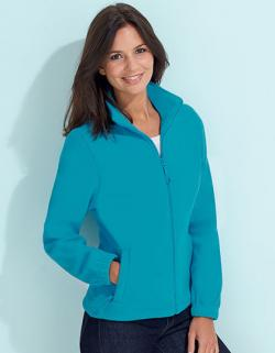 Damen Fleecejacke North mit Antipilling-Fleece