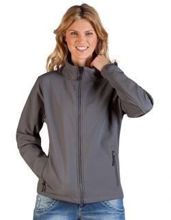 Damen Softshell Jacket C+ mit Stehkragen