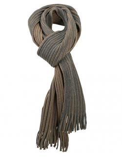Ribbed Scarf / Schal / 180 x 21 cm