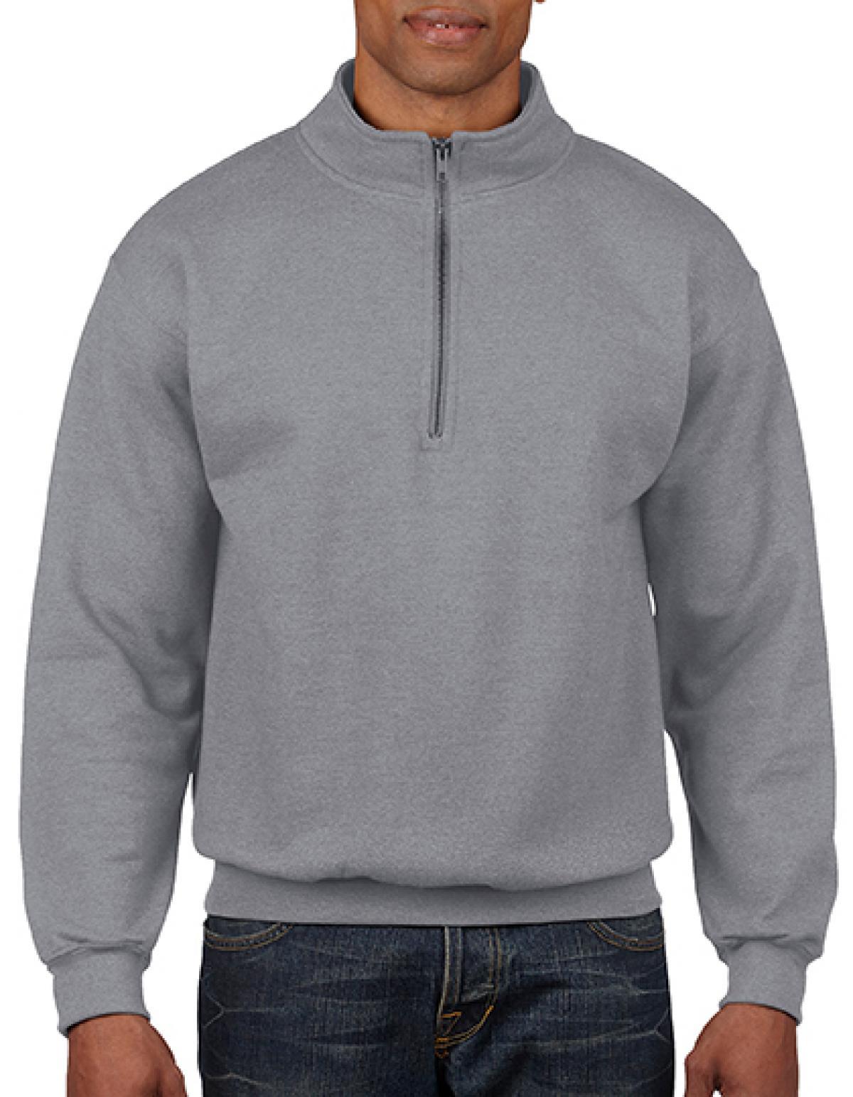 Heavy Blend Vintage 14 Zip Herren Sweatshirt Rexlander´s