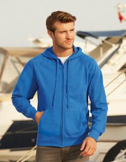 Lightweight Hooded Herren Sweat Jacket mit Kaputze