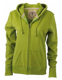 Damen Vintage Hoody Jacket / Kapuzenjacke