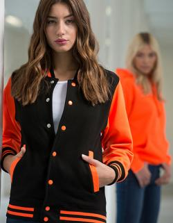 Electric Varsity Jacket / Damen college Jacke (WRAP)
