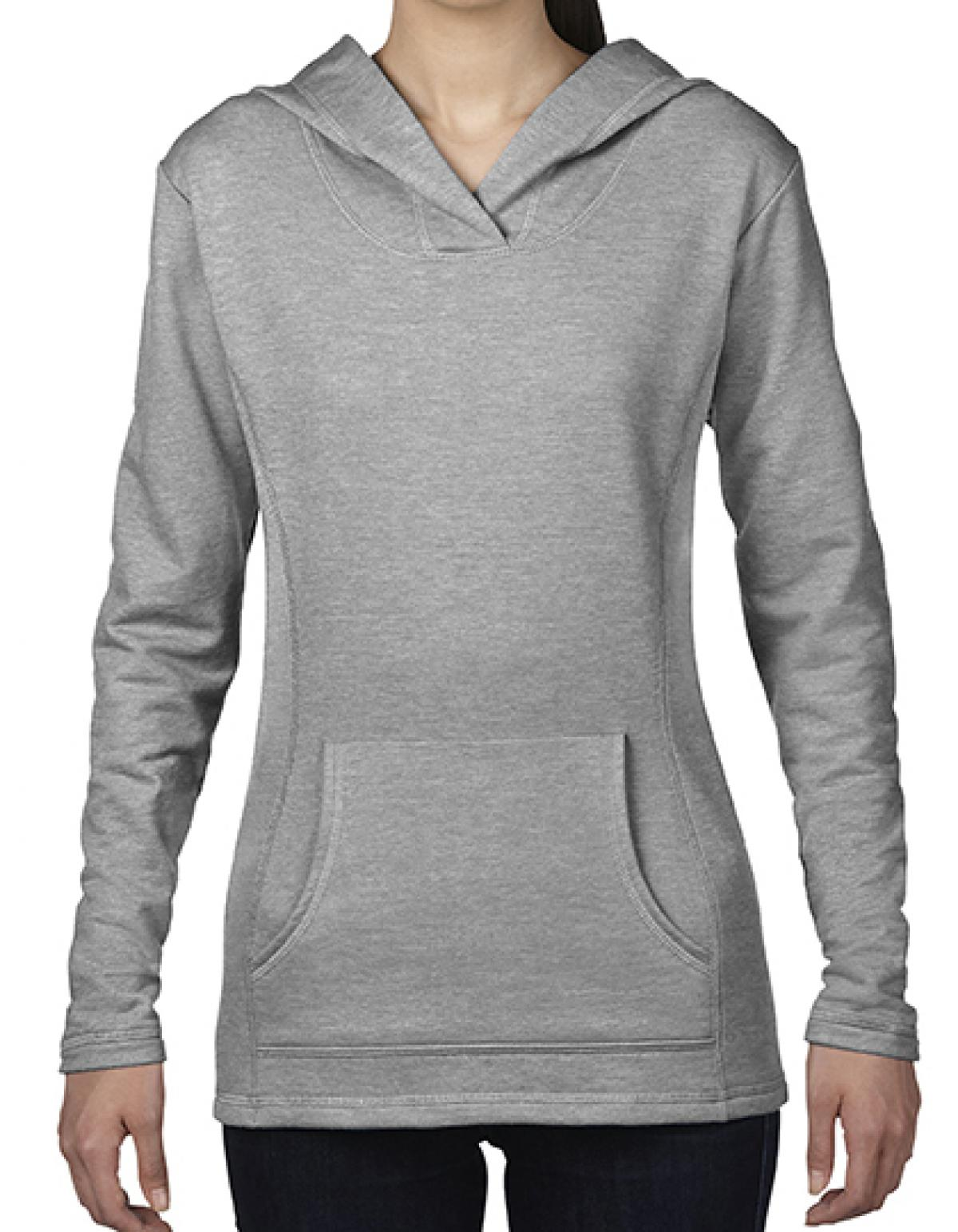 Womens Crossneck Hooded Sweatshirt / Kapuzenpullover ...