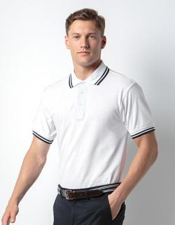 Tipped Collar Herren Polo Shirt / Oeko-Tex