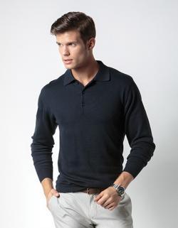 Herren Arundel Polo Shirt / Langarm / Öko-Tex