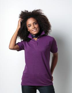Damen Klassic Polo Shirt Superwash 60°/ Öko-Tex