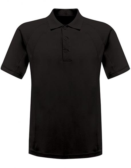 Herren Coolweave Wicking Polo /  Polyester-Piqué-Gewebe