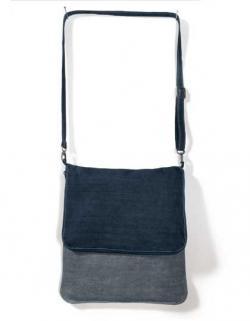 Messenger Bag Denim Damen Schultertasche